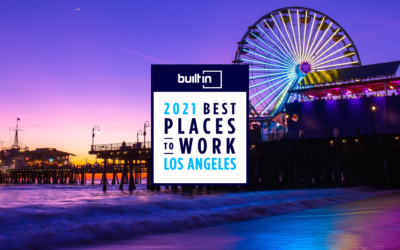 Awards: Built in LA Best Places to Work 2021
